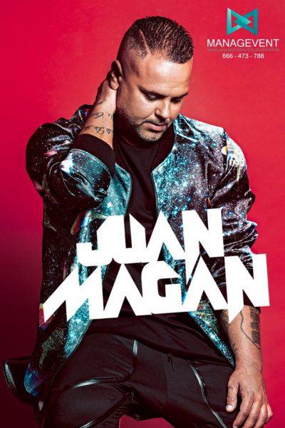 Contratar Juan Magan contratar cantante artista electro latino