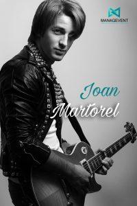 Contratar Joan Martorel live guitar