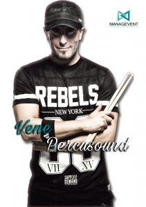 Contratar Vene Percusound percusionista live percussion precio timbalada